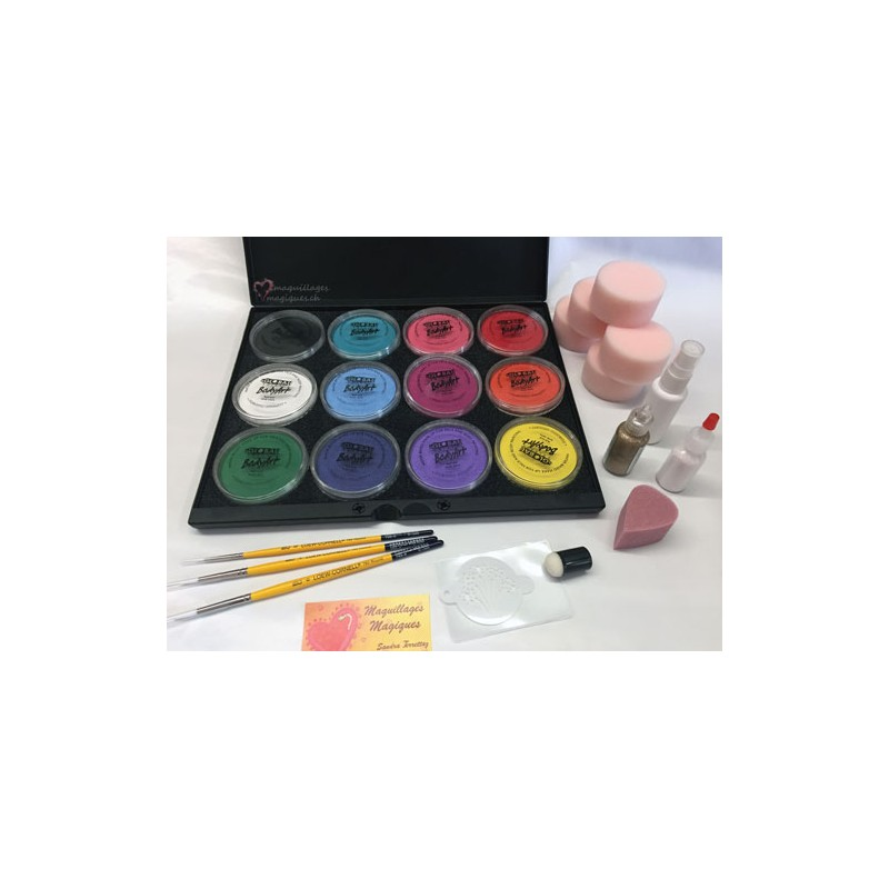global kit professionnel maquillages magiques