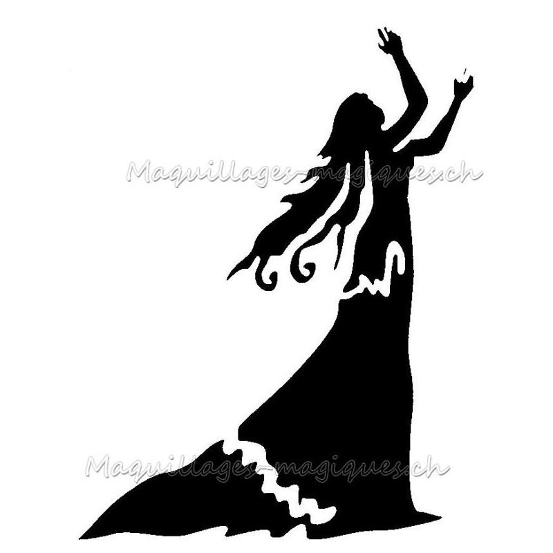 Vierge Pochoir Tatouage Temporaire Signe Du Zodiaque Ybody 94700