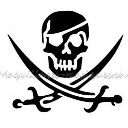 Tête de mort Pirate