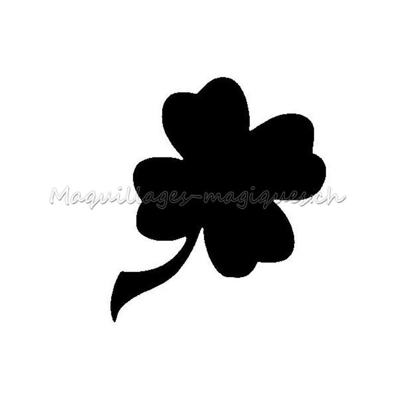 tr fle 4 feuilles pochoir tatouage temporaire ybody 31800 maquillages magiques. Black Bedroom Furniture Sets. Home Design Ideas