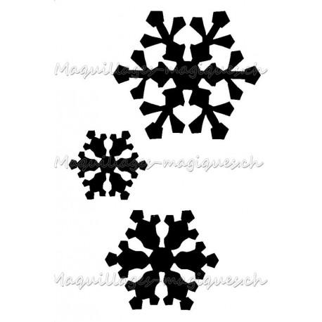 Cristaux des neiges