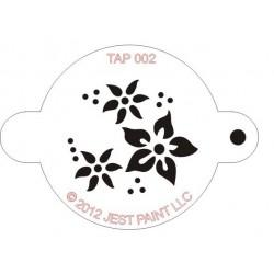 TAP Stencil Flowers