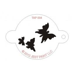 TAP Stencil Butterflies