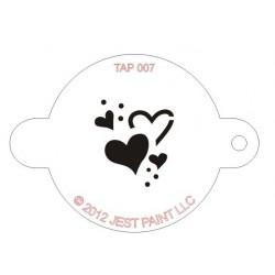 TAP Stencil Hearts