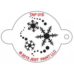 TAP Stencil Snowflakes