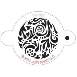 TAP Stencil Swirly