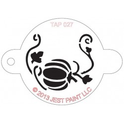 TAP Stencil Pumpkin with Vine