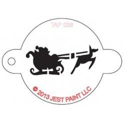 TAP Stencil Santa