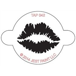 TAP Stencil Lip Print
