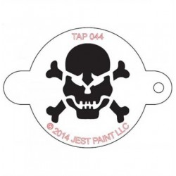 TAP Stencil Scull with Crossbones