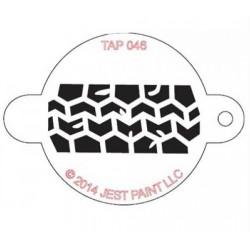 TAP Stencil Tire Track