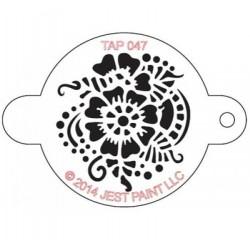 TAP Stencil Henna Pattern
