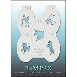 bad ass i stencils#bam-pax-3004#maquillages-magiques 3004 Unipeg