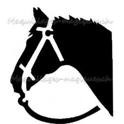 Tête de cheval 21702