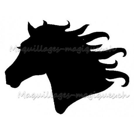 Cheval de profil 21703