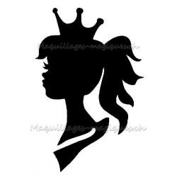 Princesse de profil 40802