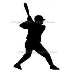 Joueur de baseball 48701