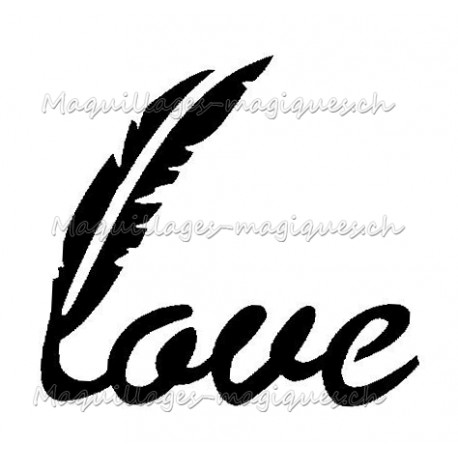 Love plume 55601