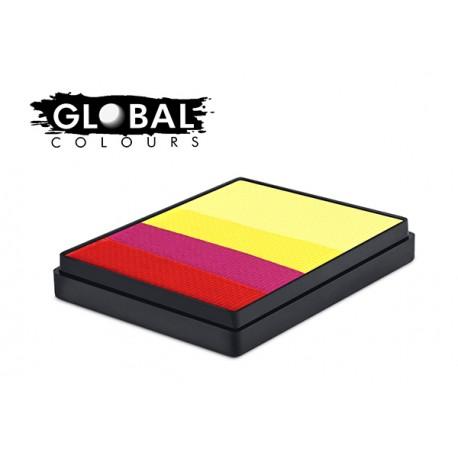 Spain Rainbow Colours