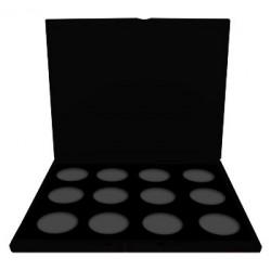 Palette pro avec 12 inserts pour maquillage