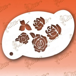 Roses Large Diva designs maquillages magiques