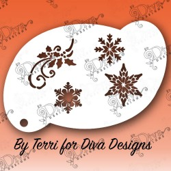 Diva Snowflake Elements Diva designs maquillages magiques 00598