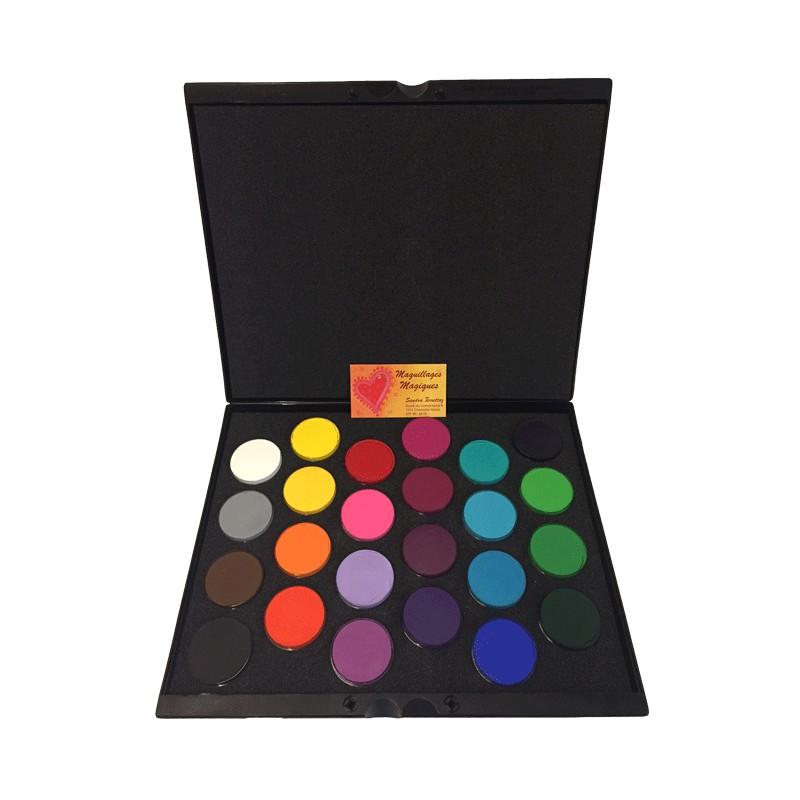 ... palette-maquillage-24-couleurs-superstar essentiel-16g-aqua-face ...