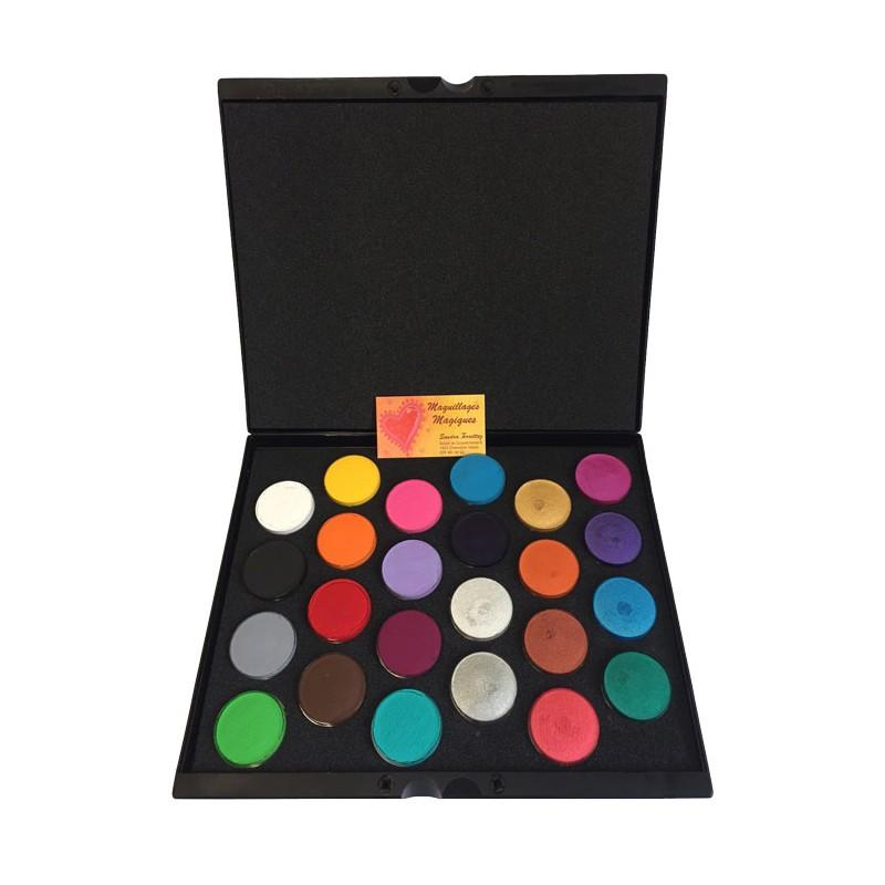 Superstar Palette 24 BASIC et NACRÉ maquillage à l'eau déguisement ...