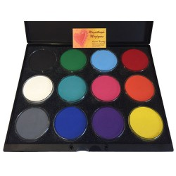 palette-maquillage-12-couleurs-global-colors 32g-aqua-face-bodypainting-