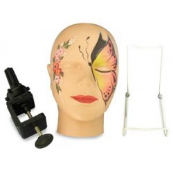 tête d'entraînement et d'exercice maquillage grimage