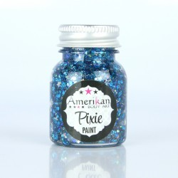"gel paillette maquillage  ""midnight blue "" Pixie Paint amerikan body art  maquillages magiques"