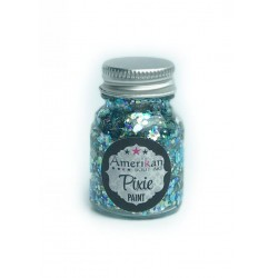 Gel paillette maquillages fete magiques splash amerikan body art pixie paint