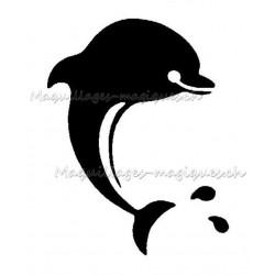 Tatouage temporaire - Tatouage éphémère - dauphin 181