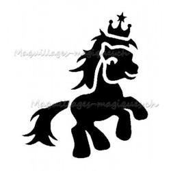 """Tatouage temporaire - tatouage éphémère """"my little pony"""" couronne 190"""
