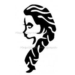 Tatouage temporaire - tatouage éphémère Reine Des Neiges Elsa 154