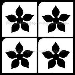 Tatouage temporaire - Tatouage éphémère - fleur 231