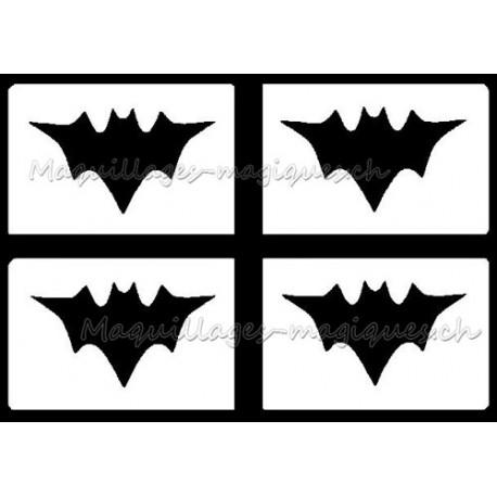 Mini Batman Pochoir Tatouage Longue Duree Pas Cher 259 Maquillages