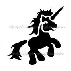 """Tatouage temporaire - tatouage éphémère """"my little pony"""" licorne"""