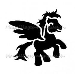 """Tatouage temporaire - tatouage éphémère """"my little pony"""" ailé 420"""