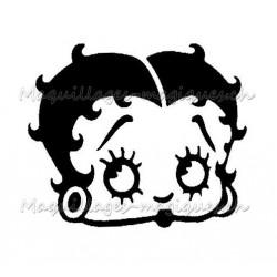 Tatouage temporaire - tatouage éphémère Betty Boop maquillages magiques