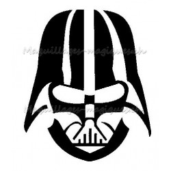 Tatouage temporaire - tatouage éphémère Dark Vador - Star Wars
