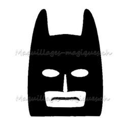 Tatouage temporaire - tatouage éphémère Lego Batman