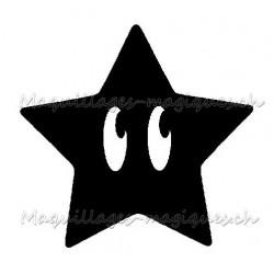 Tatouage temporaire - tatouage éphémère Super Etoile Mario Bros