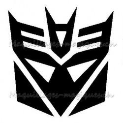 Tatouage temporaire - tatouage éphémère Megatron Transformers