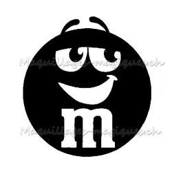 Tatouage temporaire - tatouage éphémère M&M's