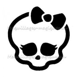 Tatouage temporaire - tatouage éphémère Monster High