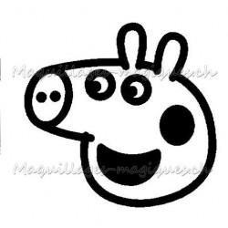 Tatouage temporaire - tatouage éphémère Peppa Pig