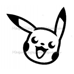Tatouage temporaire - tatouage éphémère Pikachu Pokemon