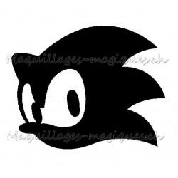 Tatouage temporaire - tatouage éphémère Sonic