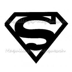 Tatouage temporaire - tatouage éphémère Superman logo
